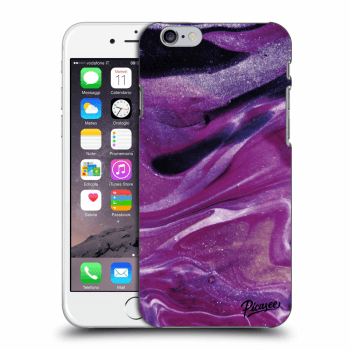 Obal pre Apple iPhone 6/6S - Purple glitter