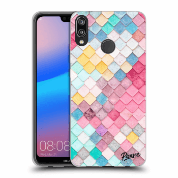 Obal pre Huawei P20 Lite - Colorful roof