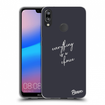 Obal pre Huawei P20 Lite - Everything is a choice