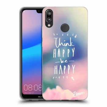 Obal pre Huawei P20 Lite - Think happy be happy
