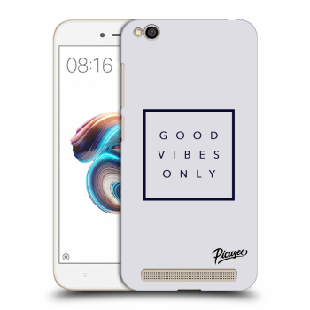 Obal pre Xiaomi Redmi 5A - Good vibes only