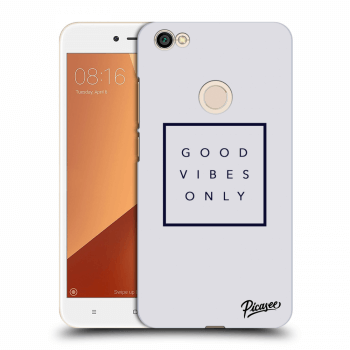 Obal pre Xiaomi Redmi Note 5A Global - Good vibes only