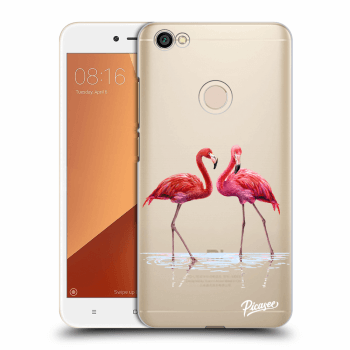 Obal pre Xiaomi Redmi Note 5A Global - Flamingos couple