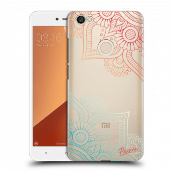 Obal pre Xiaomi Redmi Note 5A Global - Flowers pattern