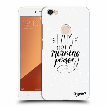 Obal pre Xiaomi Redmi Note 5A Global - I am not a morning person