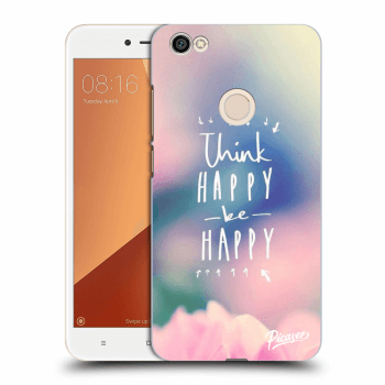 Obal pre Xiaomi Redmi Note 5A Global - Think happy be happy