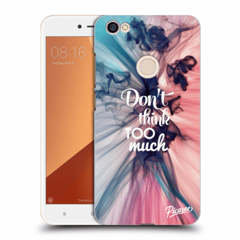 Obal pre Xiaomi Redmi Note 5A Global - Don't think TOO much