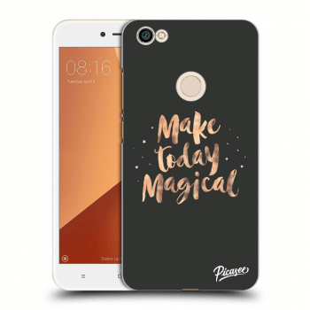 Obal pre Xiaomi Redmi Note 5A Global - Make today Magical