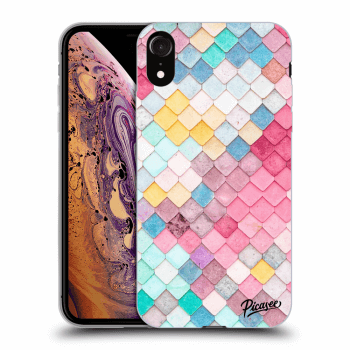 Obal pre Apple iPhone XR - Colorful roof