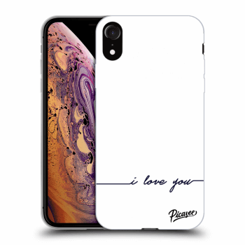 Obal pre Apple iPhone XR - I love you