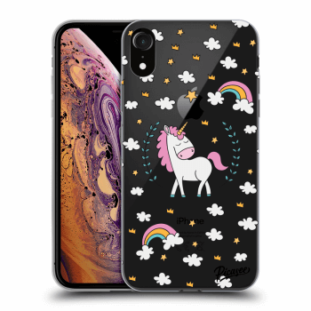 Obal pre Apple iPhone XR - Unicorn star heaven