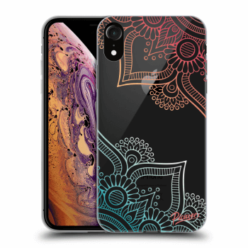 Obal pre Apple iPhone XR - Flowers pattern