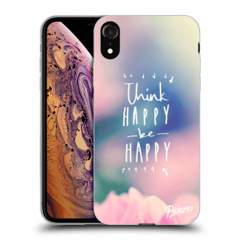 Obal pre Apple iPhone XR - Think happy be happy