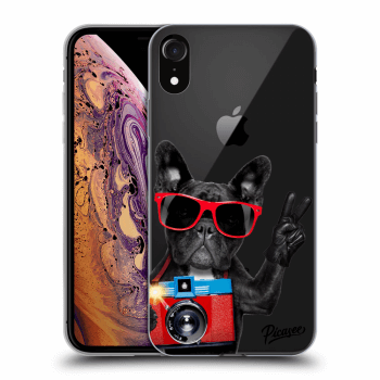 Obal pre Apple iPhone XR - French Bulldog