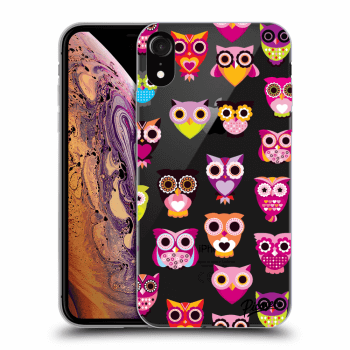 Obal pre Apple iPhone XR - Owls