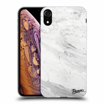 Obal pre Apple iPhone XR - White marble