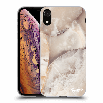 Obal pre Apple iPhone XR - Cream marble