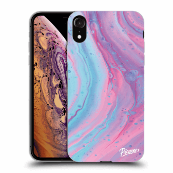 Obal pre Apple iPhone XR - Pink liquid