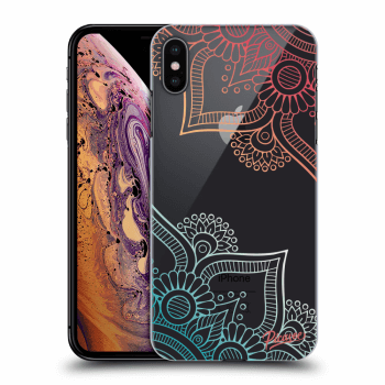 Obal pre Apple iPhone XS Max - Flowers pattern