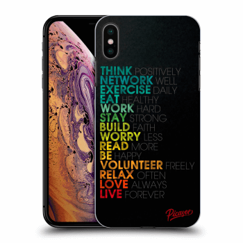 Obal pre Apple iPhone XS Max - Motto life