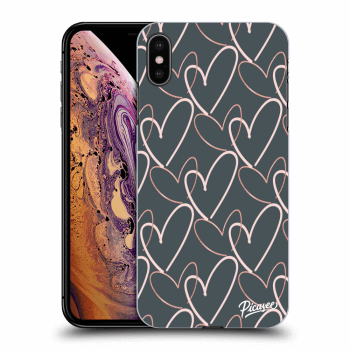 Obal pre Apple iPhone XS Max - Lots of love