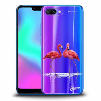 Obal pre Honor 10 - Flamingos couple