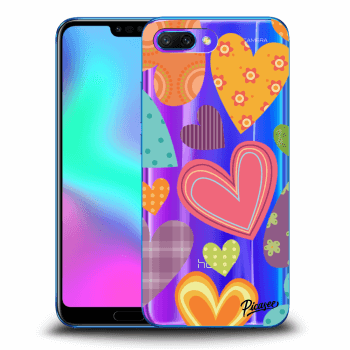 Obal pre Honor 10 - Colored heart
