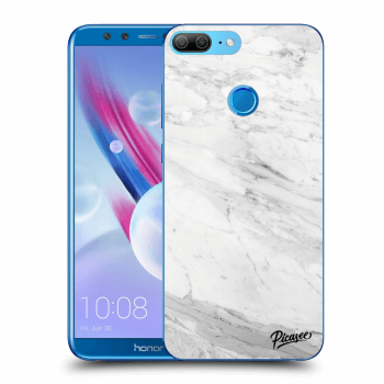 Obal pre Honor 9 Lite - White marble