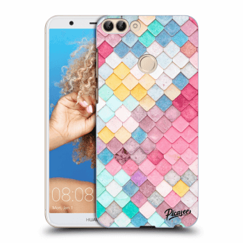 Obal pre Huawei P Smart - Colorful roof