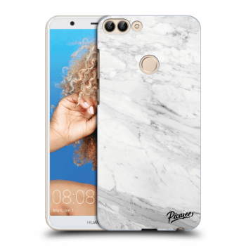 Obal pre Huawei P Smart - White marble