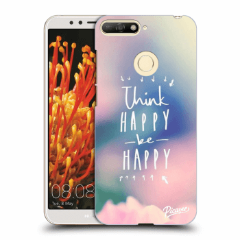 Obal pre Huawei Y6 Prime 2018 - Think happy be happy