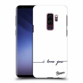 Obal pre Samsung Galaxy S9 Plus G965F - I love you