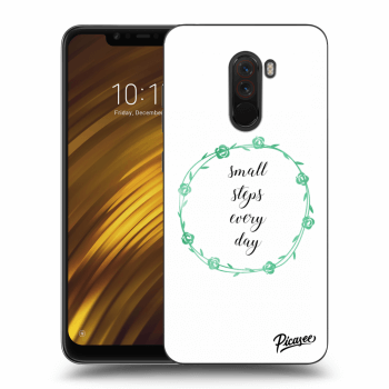 Obal pre Xiaomi Pocophone F1 - Small steps every day