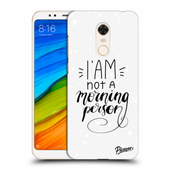 Obal pre Xiaomi Redmi 5 Plus Global - I am not a morning person