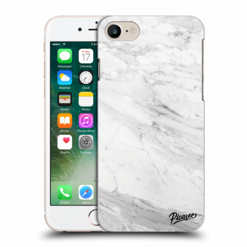 Obal pre Apple iPhone 7 - White marble