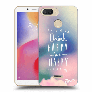 Obal pre Xiaomi Redmi 6 - Think happy be happy