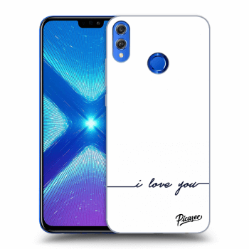 Obal pre Honor 8X - I love you