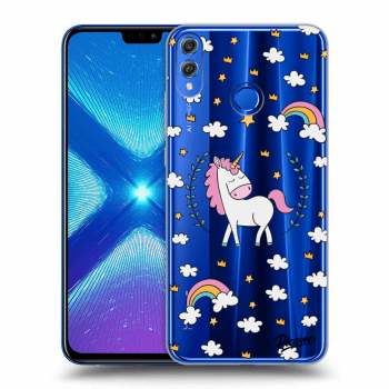 Obal pre Honor 8X - Unicorn star heaven