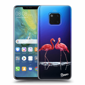 Obal pre Huawei Mate 20 Pro - Flamingos couple