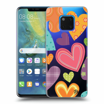 Obal pre Huawei Mate 20 Pro - Colored heart