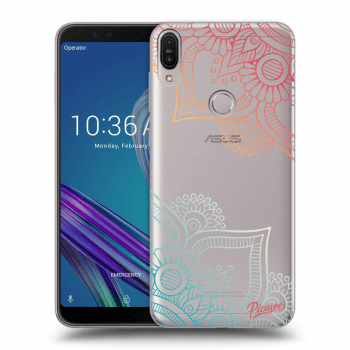 Obal pre Asus ZenFone Max Pro (M1) ZB602KL - Flowers pattern