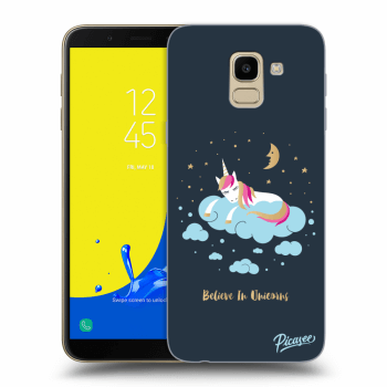 Obal pre Samsung Galaxy J6 J600F - Believe In Unicorns