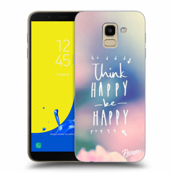Obal pre Samsung Galaxy J6 J600F - Think happy be happy