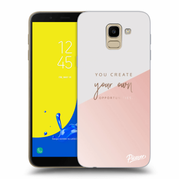 Obal pre Samsung Galaxy J6 J600F - You create your own opportunities