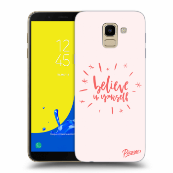 Obal pre Samsung Galaxy J6 J600F - Believe in yourself