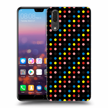 Obal pre Huawei P20 - Colorful dots
