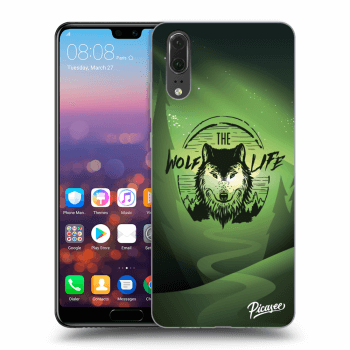 Obal pre Huawei P20 - Wolf life