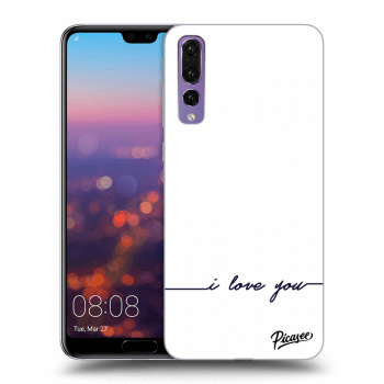 Obal pre Huawei P20 Pro - I love you