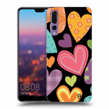 Obal pre Huawei P20 Pro - Colored heart