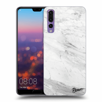 Obal pre Huawei P20 Pro - White marble